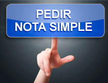 Nota Simple Registro de la Propiedad - RegistroDirecto.es